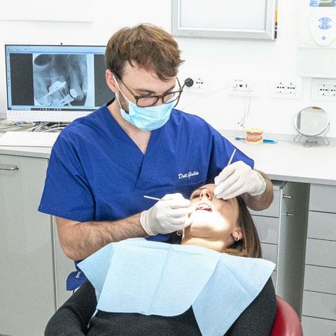 Servizio fotografico aziendale dentista
